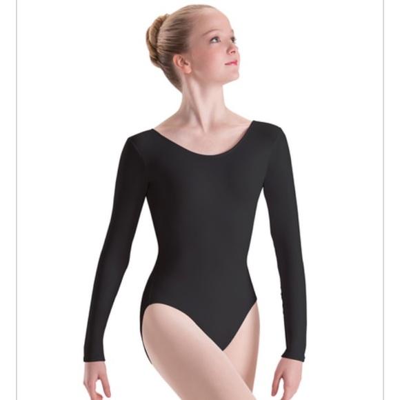 Motionwear Other - Motionwear Long Sleeve Leotard - Child Med (8-10)